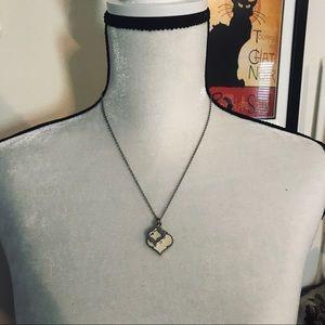 Arabesque pendant necklace